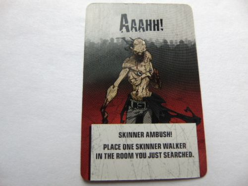 zombie action card (ambush)